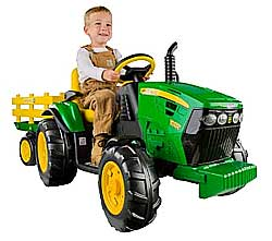 ride on tractor for kids